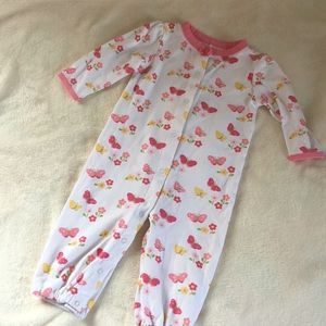 Gymboree Baby Girl Convertible Romper 6-9 months